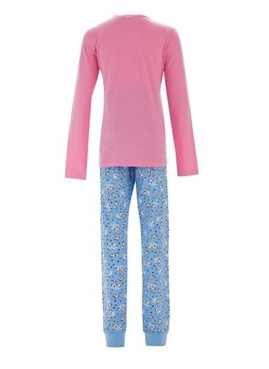 DeFacto Kız Çocuk Koala Baskılı Pijama Takımı Pembe